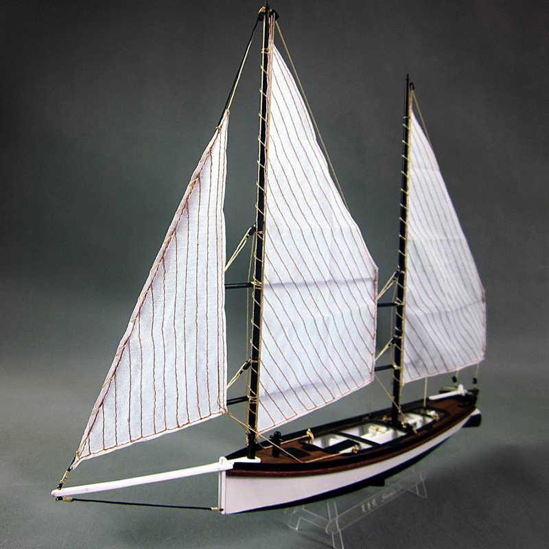 Находчивый шарп, Деревянные модели парусников комплект материалов