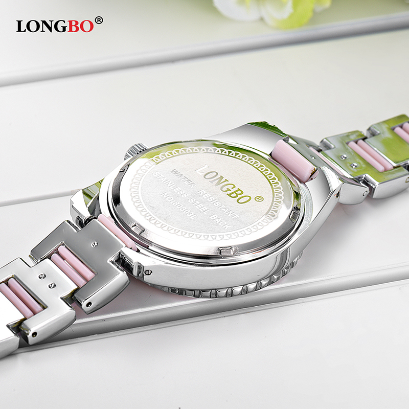 New LONGBO Brand Women Watch Ladies Quartz Watches Lady Wristwatch Relogio Feminino Montre Relogio Feminino Mujer 80303