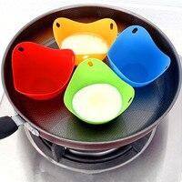 7 Pcs/Set Egg Tool with Separator Egg Boiler Cooker Transparent Silicone 3
