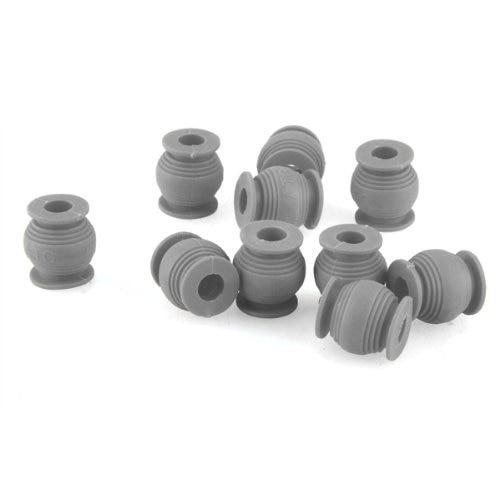 10x Atg Av Anti Vibration Ball High Elastic Rubber Dual-head Grey 120 G Fine Craftsmanship