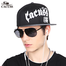Cacuss Snapback Cap Men Flat caps Brim Baseball Caps Boys Girls Hip Hop Hats  2017 Spring 07a32c71d1fd