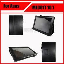 Nuevo ultra slim stand case para asus memo pad smart me301 me301t 10.1 pulgadas tablet + stylus