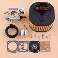 Карбюратор HD воздушный фильтр диафрагма Ремонтный комплект для HUSQVARNA 371 372 372XP бензопила запчасти 503281801