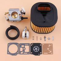 Carburetor HD Air Filter Diaphragm Repair Kit For HUSQVARNA 371 372 372XP Gasoline Chainsaw Parts 503281801
