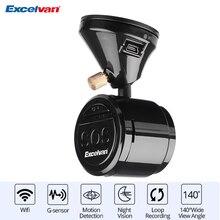 Excelvan Energiesparfarben HD 1080 P Wifi Digital Video Recorder fahrzeug Auto DVR Dash Kamera Cam Camcorder 140 Weitwinkel objektiv