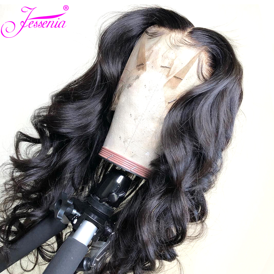 Lace Frontal Human Hair Wigs Pre Plucked Brazilian Body Wave 13*4 Lace Front Wigs 150% Density Brazilian Hair Wigs