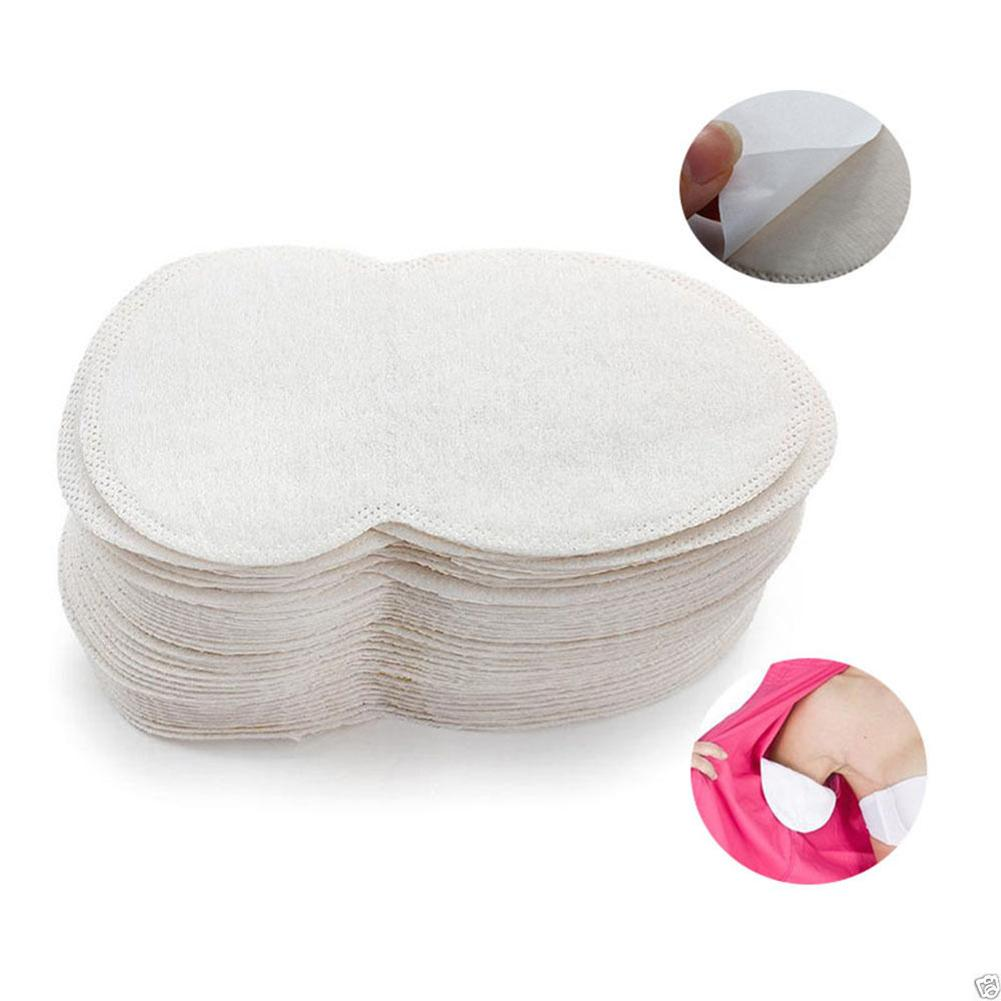 50Pcs Women Men Underarm Dress Clothing Anti Perspiration Sweat Absorbing Pad Deodorant Shield Armpit Care