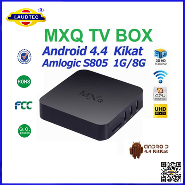 US $61 5 |high quality cheap wholesale price Amlogic S805 MXQ Android TV  BOX Quad core full hd 1080 android tv box 4 4 ott tv box-in Set-top Boxes
