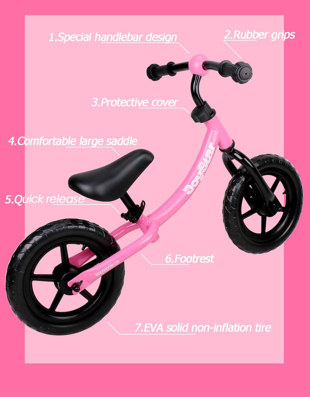 HTB1qJOSbfjsK1Rjy1Xaq6zispXau 10 & 12 Inch Balance Bike Ultralight Kids Riding Bicycle 1-3 Years Kids Learn to Ride Sports Balance Bike Ride on Toys Child Bike