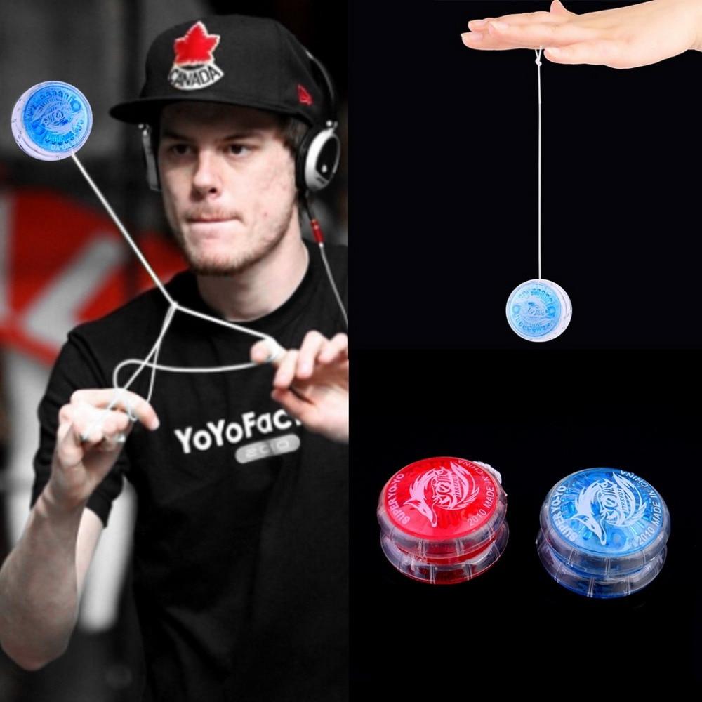 1pc Magic Yoyo Ball Toys For Kids Colorful Plastic Easy to Carry yo-yo Toy Party Boy Classic Funny Yoyo Ball Toys Gift aoda portable cool plastic alloy yo yo toy deep blue