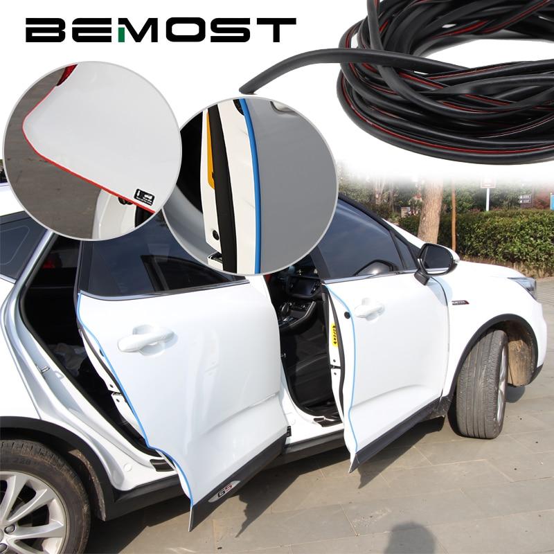 BEMOST Car Edge Door Moldings Crash Strip Protection Scratch Sticker Accessories For Lexus For LS460 LX570 RX350 RX300 GX470 yatour bta car bluetooth adapter kit for head unit radio for lexus gx470 ls460 lx570 rx300 rx300 rx330 rx350 rx400h sc430