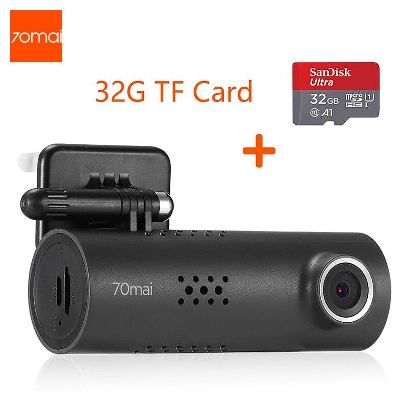 70mai Smart Dash Cam Inglese Versione Auto DVR 1080HD Videocamera per auto APP di Guida Recoder 130 FOV G-Sensor Cruscotto