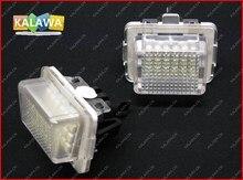 Одна пара LED Фонарь Освещения Номерного Знака для Мерсед. es-Ben.z W204 Canbus led номерной знак лампы Нет Ошибка 030203 GGG (FREESHIPPING)