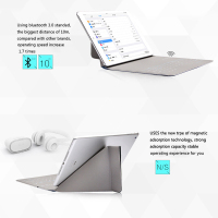 Desxz Case 7.9 Wireless Bluetooth Keyboard Folding Cases Protective Holster Ultra Thin for ipad min 1 2 3 4 5 air Tablet IOS