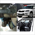 For Skoda Yeti Car wifi DVR Driving Video Recorder hidden installation Novatek 96655 Car black box dash cam G-sensor