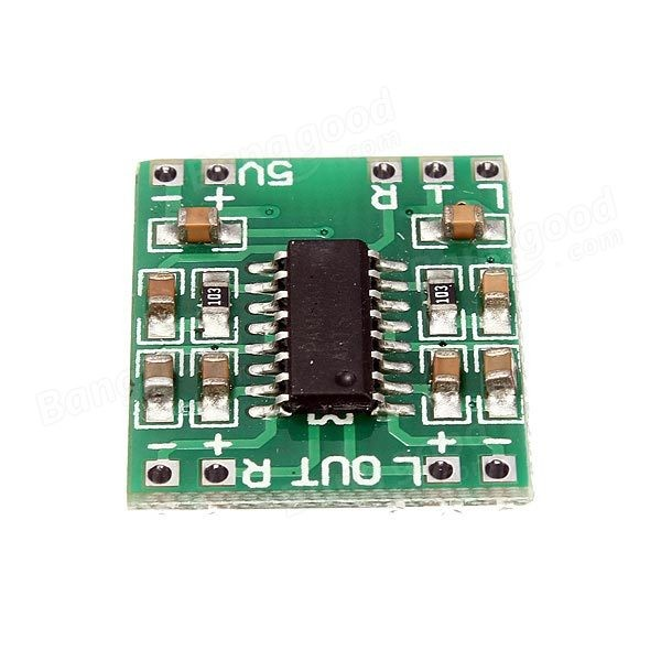 Free Shipping 100pcs/lot Mini Digital Power Amplifier Board 2*3W Class D Audio Module USB DC 5V PAM8403