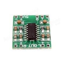 Il trasporto libero 100 pz/lotto Mini Digital Power Amplifier Consiglio 2*3 W Classe D Audio Modulo USB DC 5 V PAM8403