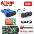 Бесплатная Доставка TCS CDP ПЛЮС V2015 R1 Bluetooth Опционально Диагностический инструмент MULTIDIAG PRO DS НОВЫЙ VCI MVDIAG 150 Авто сканер