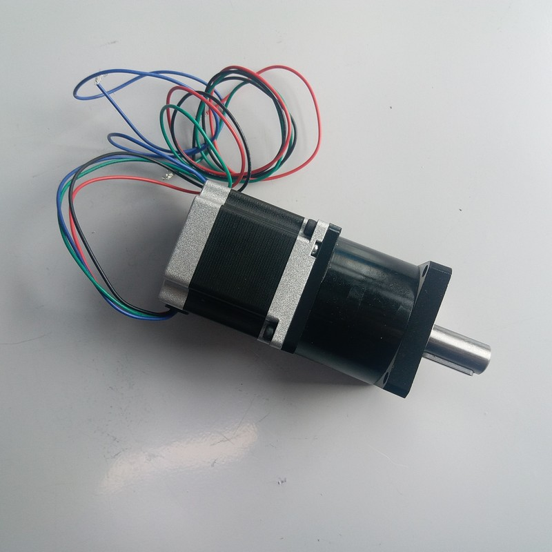 Ratio10:1 NEMA23  stepper motor with Planetary gearbox reducer Motor 1.1NM 160Oz-in 57*56mm 3A 4 Wires for CNCRatio10:1 NEMA23  stepper motor with Planetary gearbox reducer Motor 1.1NM 160Oz-in 57*56mm 3A 4 Wires for CNC