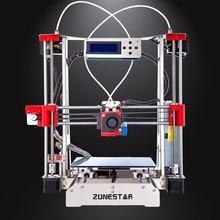 Opcional de Doble Extrusora Reprap Prusa i3 Full Metal 3D Impresora DIY Kit de Auto Nivelación Fácil Montar Gft SDCard Feeder Envío gratis