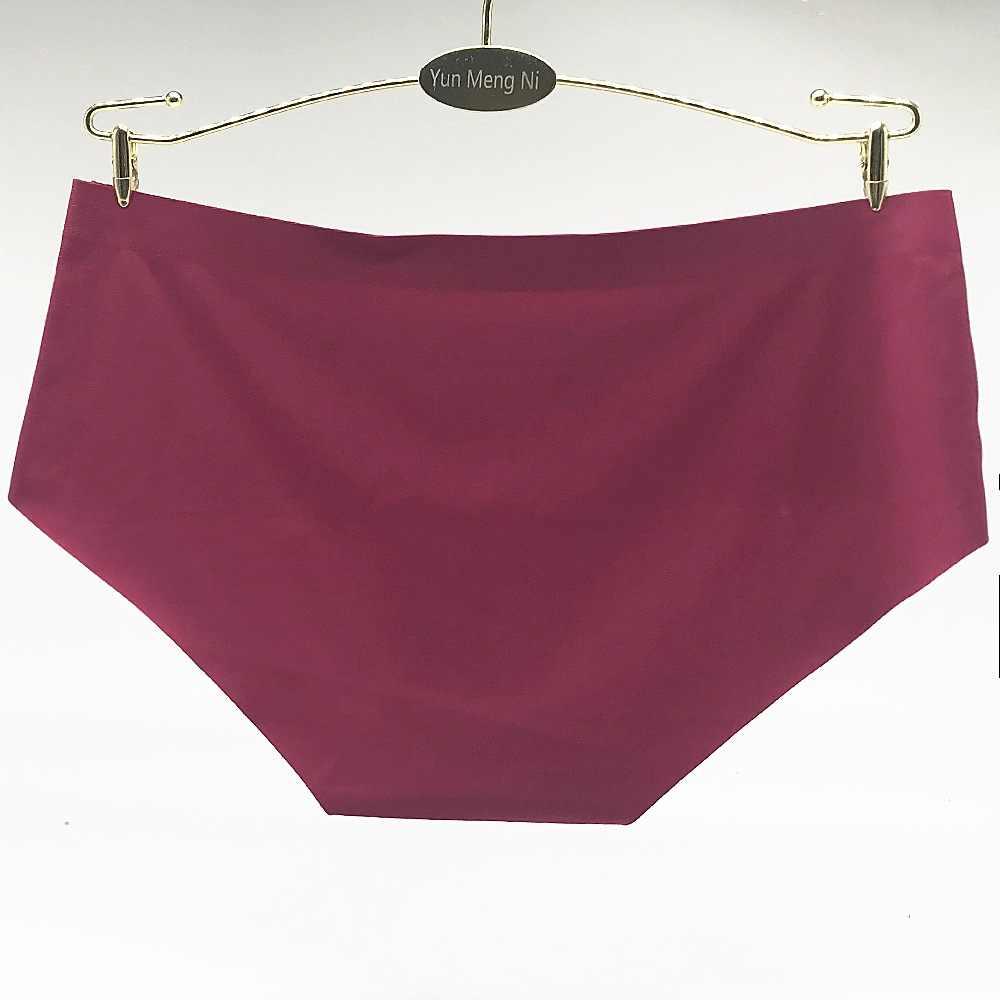 37a235c8b8 ... 6PCs Lot Fashion Design Seamless Panties Solid Breifs Women Underwear  High Quality Spandex Ladies Sexy ...