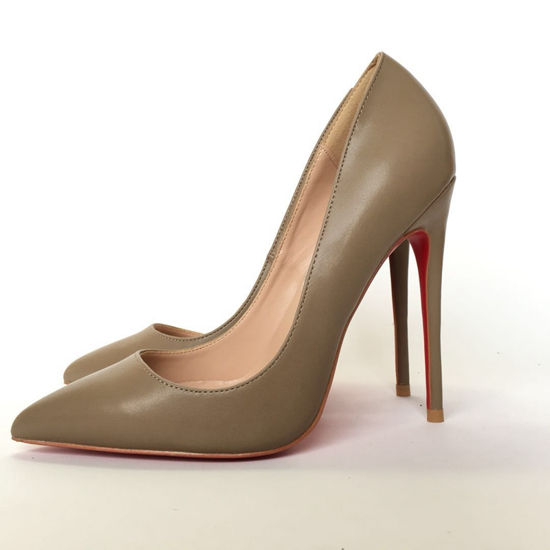 2018 new style Women s high heels Sandalspumps OL simple wild lady high heels shoes 35