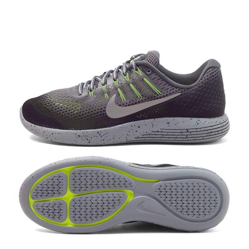ff0184350df2 Original New Arrival 2017 NIKE LUNARGLIDE 8 SHIELD Men s Running Shoes  Sneakers ...