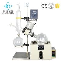 Conventional RE 301 Vertical Glassware condenser for rotary evaporator Chemicals Vacuum Vaporizer