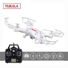 Frete grátis RC Drone Com Câmera HD X5C-1 2.0MP (X5C Versão Atualizada) 2.4g 4CH 6-Eixo RC Helicóptero Quadcopter Ar. zangão