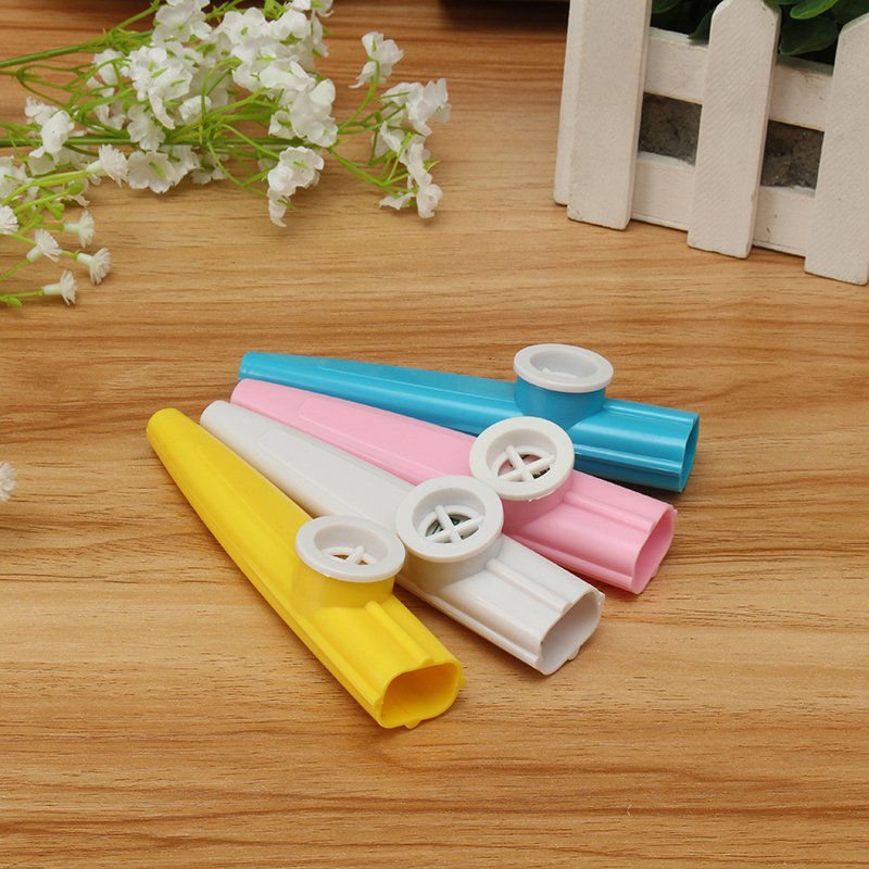 Hot Sale Plastic Kazoo Classic Musical Instrument Fun For All Ages Kids Music Lovers Instrument Random