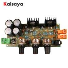 TDA2030A amplificador estéreo de alta fidelidad de dos canales 2,0 18W + 18W placa amplificadora Kits DIY B3 007