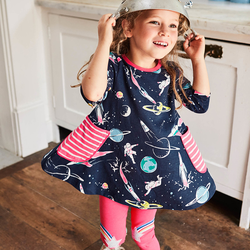 Little maven 2-7Years Autumn Planet Toddler Kids Girl Childrens Fall Clothing Sets Girls Boutique Outfits For Baby Dress SuitLittle maven 2-7Years Autumn Planet Toddler Kids Girl Childrens Fall Clothing Sets Girls Boutique Outfits For Baby Dress Suit