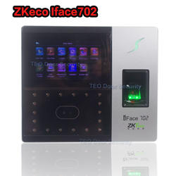 ZK iface702 лицо/отпечатков пальцев домофонов Система контроля доступа + аудио домофоны отпечатков пальцев арабский доступна рабочего времени