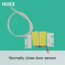 20 pcs 표면 장착 화이트 컬러 플라스틱 마그네틱 센서 도어 오픈 알람 감지기 위치 제한 스위치 홈 보안 보호