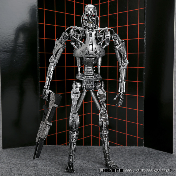 The Terminator Endoskeleton PVC Action Figure Collectible Model Toy 7 18cm MVFG361 neca the terminator 2 action figure t 800 endoskeleton classic figure toy 718cm 7styles