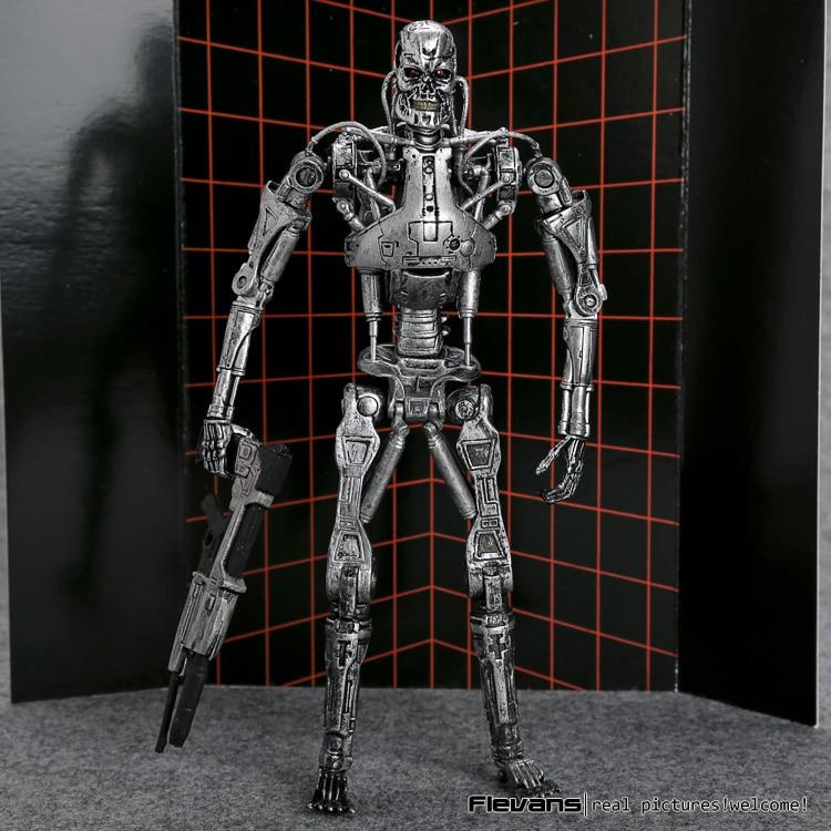 "The <font><b>Terminator</b></font> <font><b>Endoskeleton</b></font> PVC <font><b>Action</b></font> <font><b>Figure</b></font> Collectible Model Toy 7"" 18cm MVFG361"