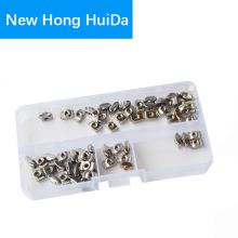 2020 series Slot T-nut Sliding T Nut Hammer Drop In Nut Fasten Connector Aluminum Extrusion Profile Groove Assortment Kit Set M3