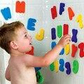 Presentes de natal carta Digital de adesivos de banheiro adesivos 36 espuma de eva brinquedos de banho da criança