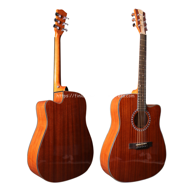 """KD-110CE Finlay High end 41"""" Acoustic - Mahogany Top and Body with Hard Case"""