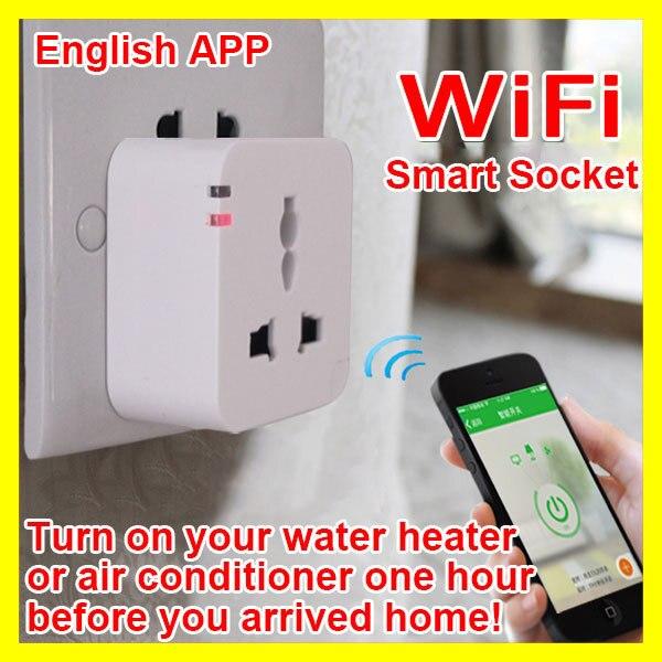 Kankun Smart Wifi Plug Socket, Remote Control Plug Socket, Intelligent Smart Device, EU/UK/US/AU Socket Plug, Andoid iOS App