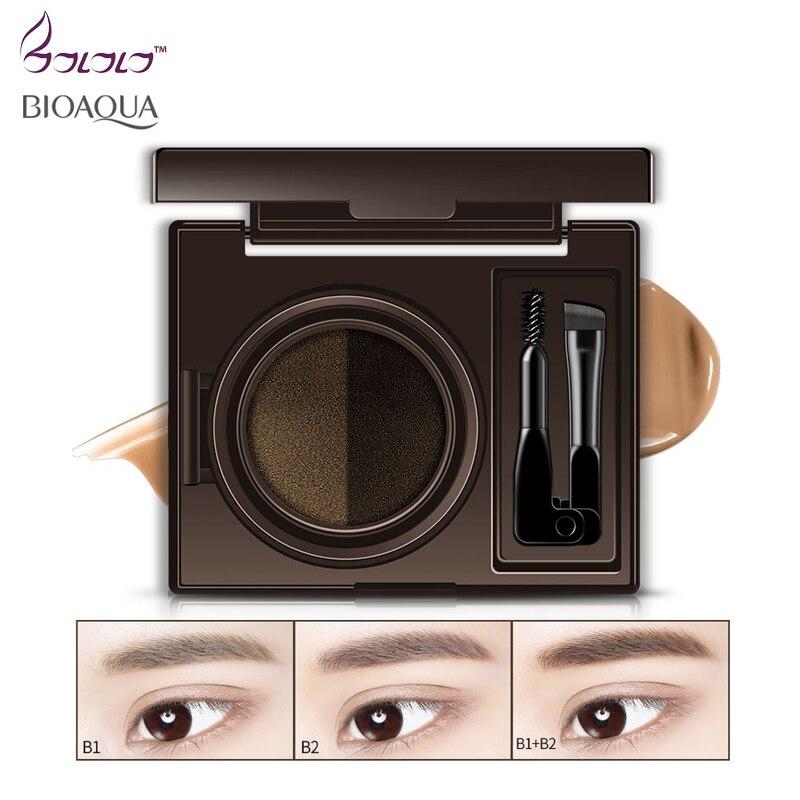 BIOAQUA two-colors Eyebrow Enhancer,make up eyebrow pencil makeup,eyebrow gel powder