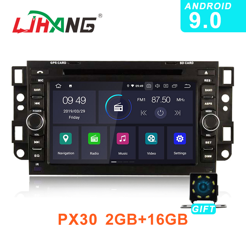 LJHANG 2 Din Android 9 0 Car DVD For Chevrolet Aveo Epica Captiva 2005 2011 GPS