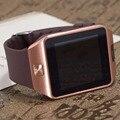 Smart watch para suporte por telefone android cartão sd sim smartwatch reloj inteligente pk gt08 u8 wearable relógio inteligente eletrônica estoque