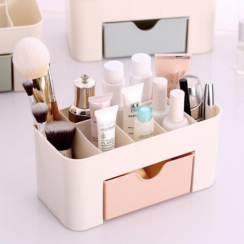 Fashion Makeup Cosmetic Holder Perfume Jewellery Case Storage Organizer Cute Box Drawers Home decor dřevěné dekorace do dětského pokoje
