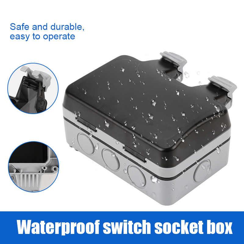 Nowy gorący gniazdko ścienne Case wodoodporna IP66 Anti-kurz łatwa instalacja SMD66