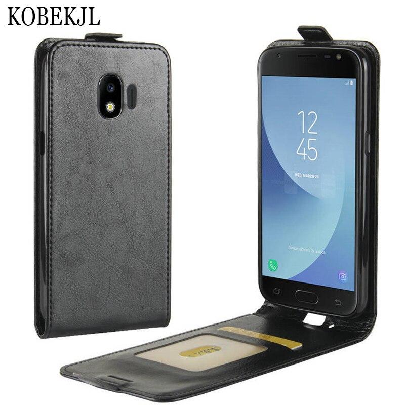 US $3 57 15% OFF|For Samsung Galaxy J2 2018 Case Samsung J2 2018 Case Flip  Leather Back Cover Case For Samsung Galaxy J2 2018 J250F J250 SM J250F-in