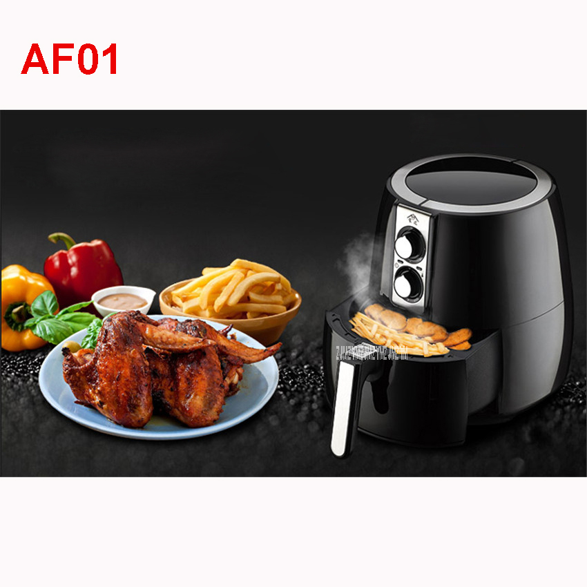 AF01 Oil-Free Multifunction Electric Fryers Grill Frying Machine French Potato Chips For Professional Use And Home Automatic Off salter air fryer home high capacity multifunction no smoke chicken wings fries machine intelligent electric fryer