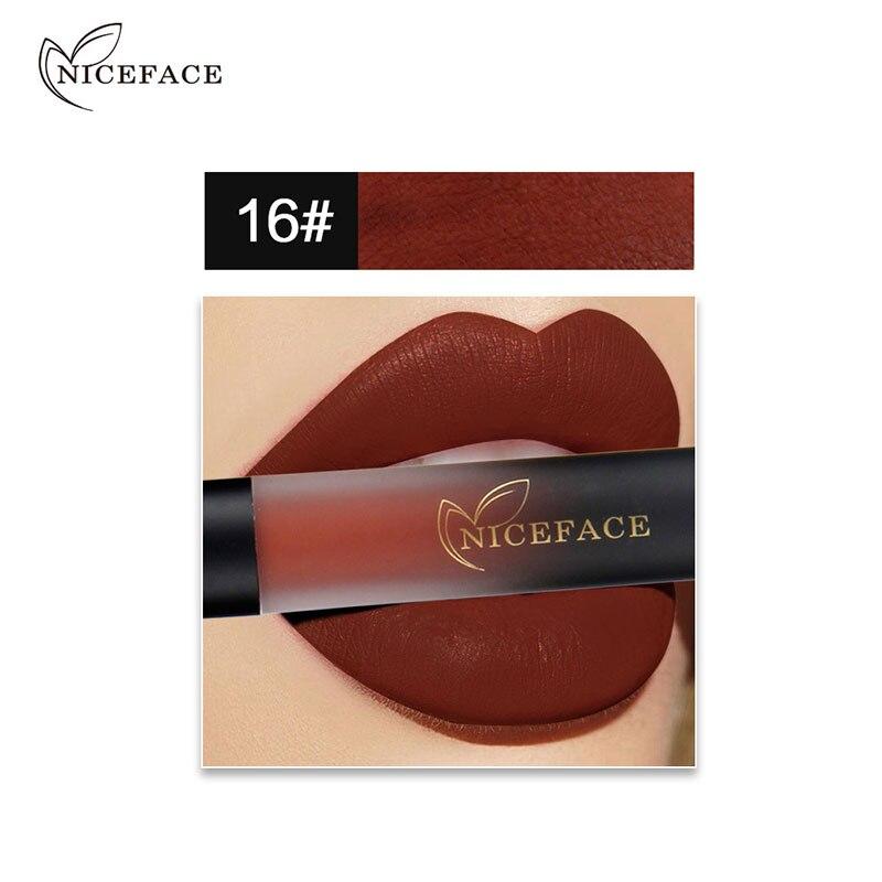 Высокое качество 18 Цвет помада-карандаш ручка карандаш для губ продолжительный блеск макияж подарок для Для женщин 88