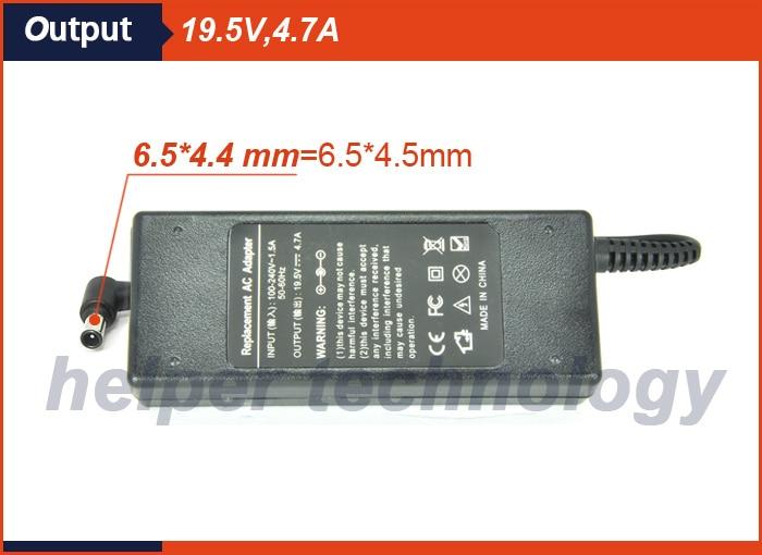 19.5V 4.7A 90w Cargador de batería adaptador de CA universal para - Accesorios para laptop - foto 4