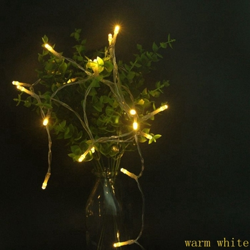 2M/3M/4M/5M/10M/20M pvc  Led String Light 3 AA Battery Operated Fairy   light String Party Christmas Wedding New year decoration christmas string light led battery light 2m 3m 4m 5m 10m holiday lights wedding led decoration lamp series battery